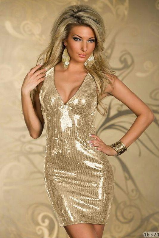 d114c1c51e45 Šaty-KrátkeExkluzívne Spoločenské Luxusné Flitrované Mini šaty ...