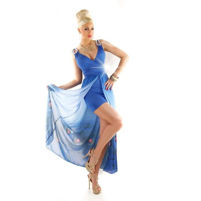 Šaty-DlhéSexi dámske mini  dlhé letné maxi šaty na ramienka ... 94dd18aa753