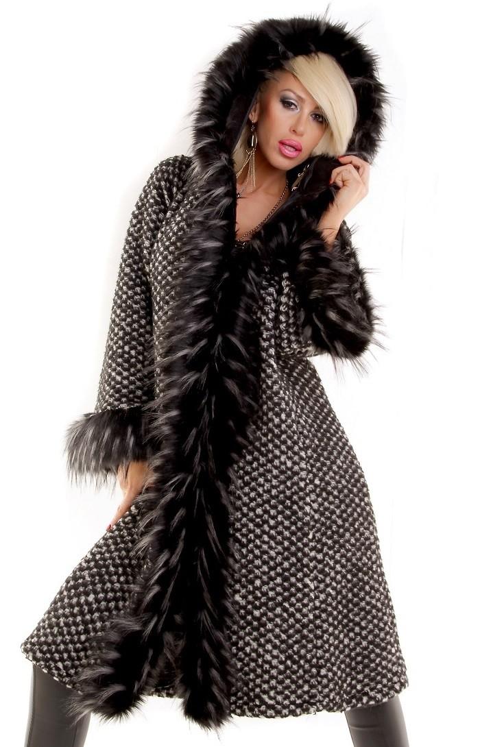 01fe7d5ad Dámska prechodná zimná bunda dámsky kabát Loveourfashion.sk