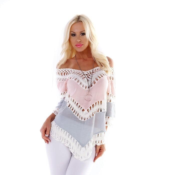 fb691b5f14a Loveourfashion.sk - Plážové oblečenie - Dámska letná plážová tunika ...
